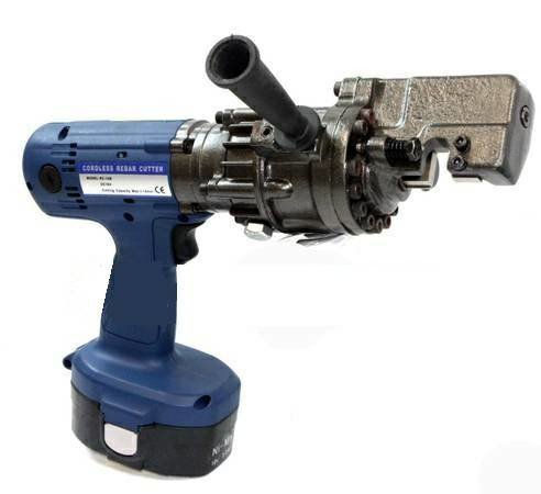 """18V Cordless Electric Rebar & Round Bar Cutter 5/8"""" # 5 with 2 Batteries"""