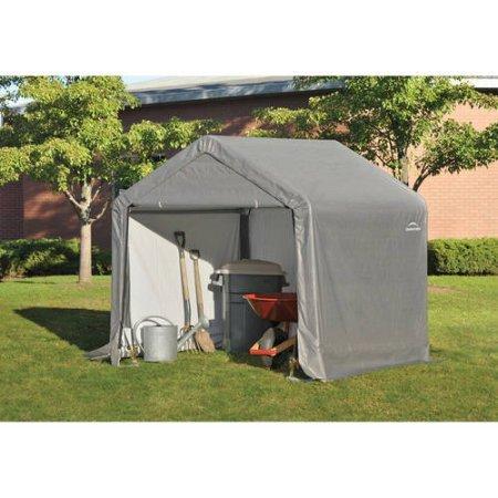 Shed-In-A-Box Canopy Storage Shed - 6L x 6W x 6H ft.
