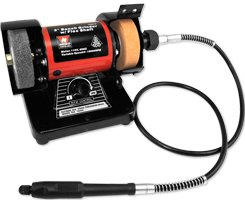 """3"""" Mini Bench Grinder with flexible Shaft"""