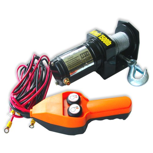 12 V ELECTRIC WINCH 1500 LBS CAPACITY