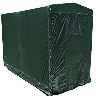 Portable Motorcycle Storage Tent shed cover Garage 5x10 with shelves fully cover