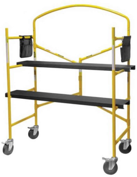 Rolling Scaffolds 5 ft high 550 lbs Capacity
