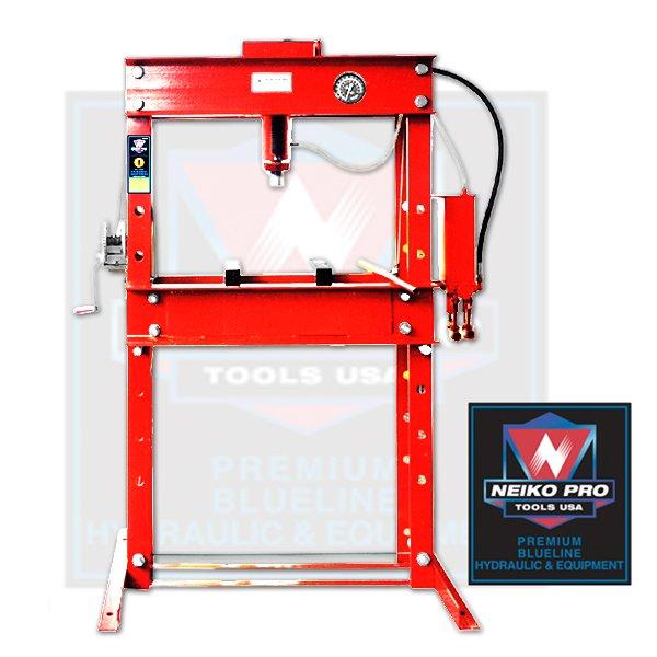 45 Ton Air / Hydraulic / Manual Heavy Duty Shop Press