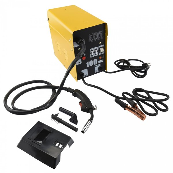 Flux Mig Welder With Auto Wire Feed 100 amps