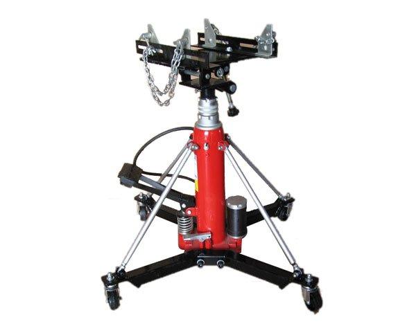 Heavy Duty Transmission Jack Air/Manual Hydraulic Telescopic Transmission jack