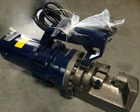 "Electric Hydraulic Rebar Cutter Cutting 1"" (25MM) Metal Bar 110 Volt"