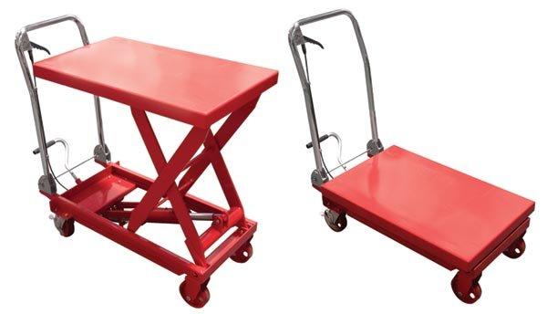 Hydraulic Lift Cart Table 1000 Lbs Capacity