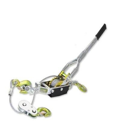 Come Along 4 Ton Lever Hoist 2 Gear Power Puller Winch Hand Ratcheting 3 Hooks