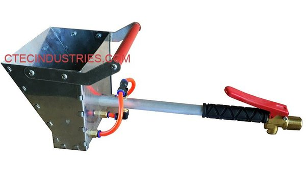 Stucco Sprayer Mortar Plaster Texture Sprayer Hopper Gun
