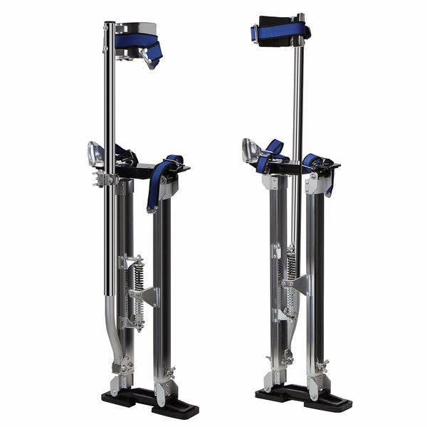 "Drywall Stilts 24"" to 40"" Height Light Weight Non-Slip"