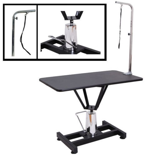 "Pet Grooming Table Hydraulic Adjustable 36"" x 24"" x 1"""