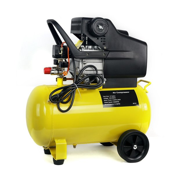 Air Compressor Horizontal 10 Gallons 3.5HP Direct Drive
