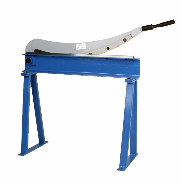 """Guillotine Shear 32"""" 16 Gauge Sheet Metal Plate Cutter With Stand"""