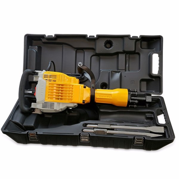 DEMOLITION JACK HAMMER 3600 WATTS WITH 2 CHISELS