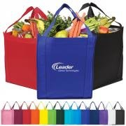 Jumbo Non-Woven Grocery Tote / ITEM # TO75964