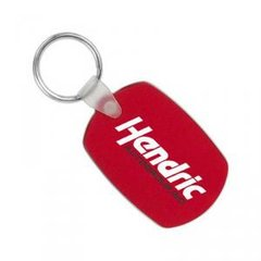Oval Soft Squeezable Key Tag / Item# KT12035