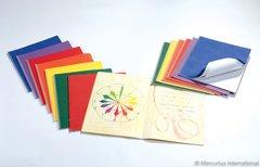 Staple Bd.Main lesson book - portrait format - 32x38 cm - no onion skin