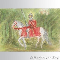 Knight Percival postcard, 1 piece