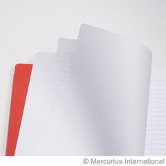 Mid. school main lesson book - 21x29.7 cm - 1 page lined / 1 page blank - no onion skin - P. 1 book
