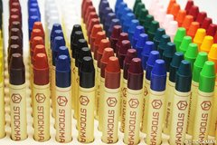 1 Stockmar stick Wax Crayons - single colours - 1 crayon