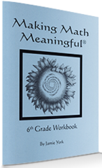 Making Math Meaningful: A 6th Grade Student's Workbook by Jamie York