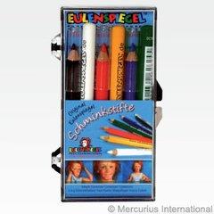 Eulenspiegel Makeup Pencils - 6 standard colours