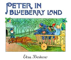 Peter in Blueberry Land  Mini Edition by  Elsa Beskow