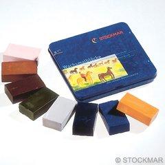 Stockmar Wax Blocks crayons- 8 colours Supplementary Assortment