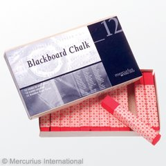 Mercurius Blackboard Pastel Chalk - single colours 12 pieces of 1 color