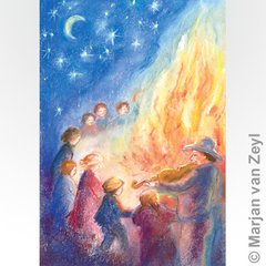 1Postcard M. v. Zeyl - St. Johns Fire