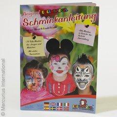 Eulenspiegel face paint, ideas book