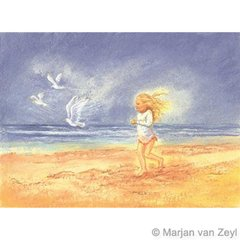 Along with the seagulls 1 piece postcard