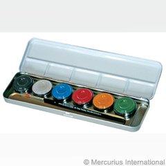 Eulenspiegel Skin Colours paints - 6 pearl colours