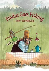 Findus Goes Fishing Author and Illustrator by Sven Nordqvist
