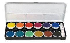 12 color Water Color School Children Set