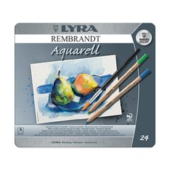 Lyra Rembrandt aquarelle pencil - 24 colours