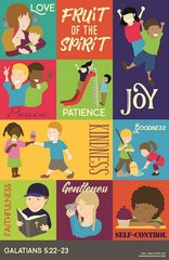 "Fruit of the Spirit Poster for Kids - 11"" x 17"""