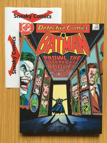 Detective comics batman canvas art