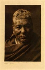 Edward S. Curtis: Hokak Papago (Framed)
