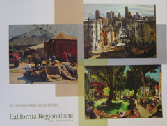 California Regionalism - Oils on Canvas