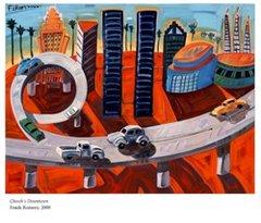Frank Romero: Cheech's Downtown