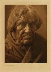 Edward S. Curtis: An Old Mohave (Framed)