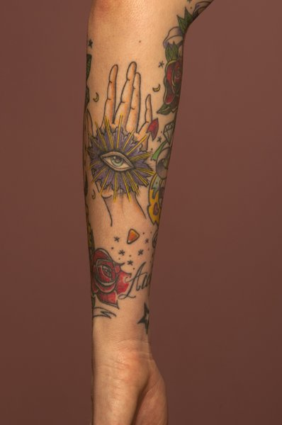 Louis Peez III: Tattoo 0071