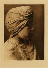 Edward S. Curtis: Sholya - Mohave Girl (Framed)