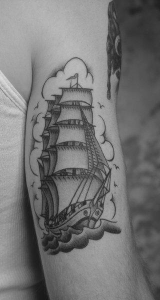 Mark Mahoney: Ship