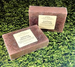 Exfoliating Hibiscus Soap