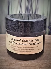 Coconut Clay Antiperspirant Deodorant