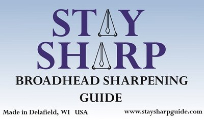 Stay Sharp Broadhead Sharpening Guide