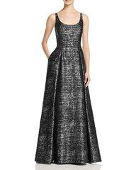 Sequin Scoop Neck Dress