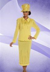 Donna Vinci 13214 Knit Embellished 2pc Suit